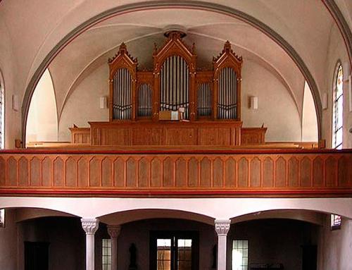 Bichwil SG. Katholische Pfarrkirche St. Mauritius