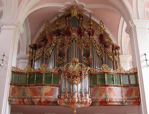Neu St. Johann SG. Ehemalige Klosterkirche.