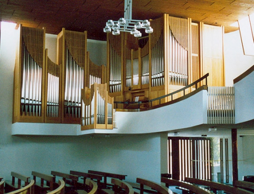 Pfäffikon SZ. Katholische Kirche St. Meinrad