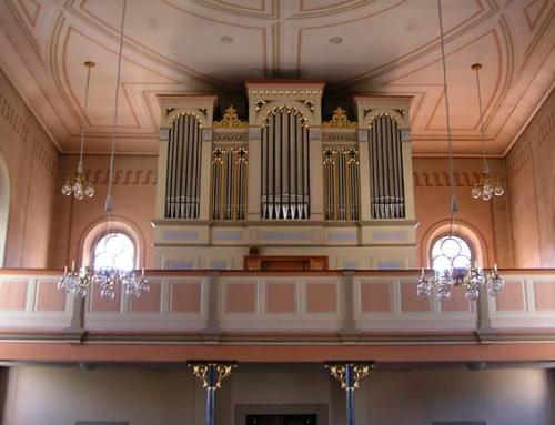 Uesslingen TG. Paritätische Kirche Peter und Paul