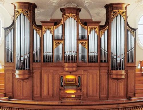 Wädenswil ZH. Evangelische Kirche